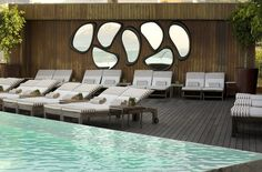Pool. Hotel Fasano Rio De Janeiro. Elegant sophistication in Ipanema. By Hotelied.