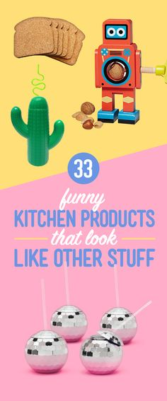 33 Funny Products For Your Kitchen That Look Like Other Stuff