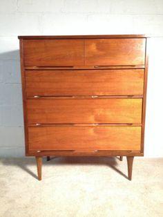 Best Mid Century Modern Kroehler Dresser Set Low Dresser – 70 400 x 300