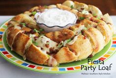Melissa's Southern Style Kitchen: Fiesta Party Loaf