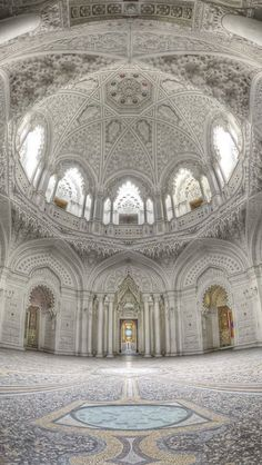 White room, Sammezzano Castle, Tuscany , from Iryna