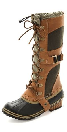 Sorel Conquest Carly Boots...ugu I LOVE these!!! I wish i needed them in CA:P