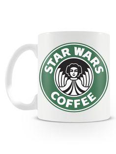 Caneca Star Wars Coffee | Uma loja de caneca #starwars #coffee #cafe #mugs #canecas #leia
