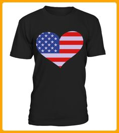USA Heart Love USA TShirts - Ostern shirts (*Partner-Link)