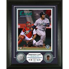 """Seattle #Mariners Robinson Cano """"Mariners Debut"""" Silver Coin Photo Mint by The Highland Mint $99.99"""