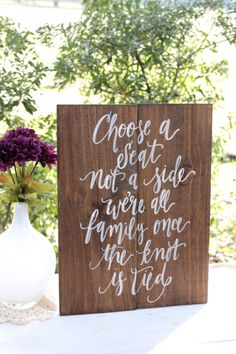 30 Wedding Signs You Need At Your Wedding - Just Not ALL At Once Hey! see more at http://www.wantthatwedding.co.uk/2015/05/26/30-wedding-signs-you-need-at-your-wedding-just-not-all-at-once-hey/