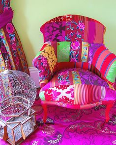 The Eclectic Pushkar Chair By DeborahSwift - Style Estate -