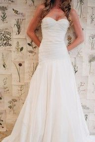 Dream: simple, romantic, soft, fit and flare dress