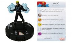 Havok #203 Wolverine and the X-Men Gravity Feed Marvel Heroclix - Wolverine & the X-Men Gravity Feed - Wolverine and the X-Men - HeroClix - ...