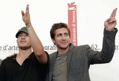 "2005-09-02: Heath and Jacke help present ""Brokeback Mountain"", in its first public screening, at the 62nd Venice Film Festival."