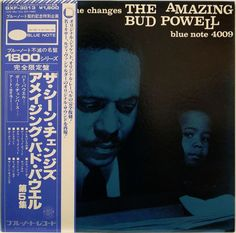BUD POWELL / THE SCENE CHANGES / BLUE NOTE / KING JAPAN OBI GXF-03013