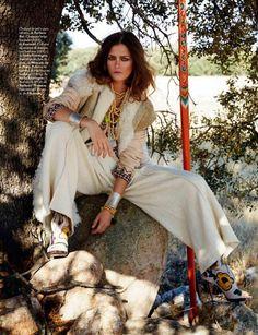 Marlena Szoka by Pascal Chevallier for Elle Spain November 2014