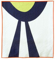 Graphic Mod quilted baby blanket  Blue Ribbon Baby by bperrino, $145.00