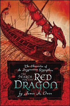 From James A. Owens' HERE THERE BE DRAGONS series