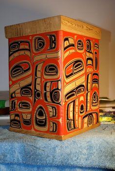 Sound - Cori Savard: red cedar bentwood box- 2011