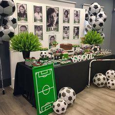Sports Themed Birthday Party, Soccer Birthday Parties, Football Birthday, Soccer Party, Sports Party, Soccer Baby Showers, Soccer Birthday Cakes, Soccer Banquet, Senior Night Gifts