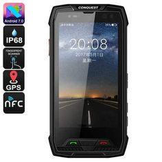 Octa Core CPU and of RAM for an outstanding performance Rugged smartphone can resist water dust and drops battery that brings u Dual Sim Phones, Finger Print Scanner, Mens Gear, Electronics Gadgets, Things To Buy, The Ordinary, Smartphone, Buy Buy, Technology