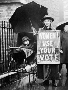 Amazing women's voting picture