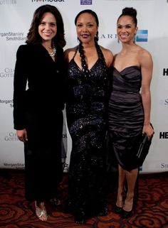 Host Soledad O'Brien, Honorary Chairperson, Lynn Whitfield, and ballerina Misty Copeland