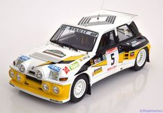 Renault 5 Maxi Turbo 1986, Rally des Garrigues, No.5, Boto/Sainz. Otto Mobile, 1/18, No.OT615, Limited Edition 2500 pcs. 90€
