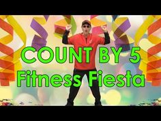 Kids love to count by 5's and exercise to this fun, upbeat Latin styled song for kids. Fitness Fiesta is a great skip count by 5's song that will get your children movin', groovin' and learning to count by 5's to 100.
