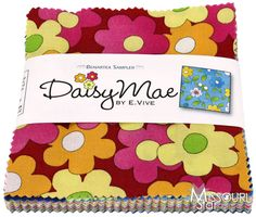 Daisy Mae Charm Pack from Missouri Star Quilt Co  Well, I love Daisies.. and I love these patterns
