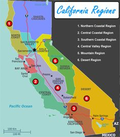 What are the similarities and differences of the 4 California regions? 4th grade social studies and ELA project based learning covering 1-2 weeks with all the resources you need!