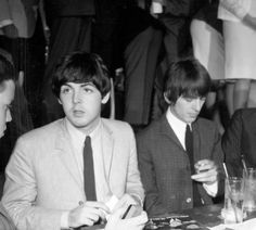 August 23, 1964 The Beatles Hollywood Bowl Press Conference credit: Michael Ochs Archives