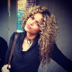 white girls with permed curly hair - Google Search