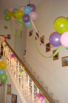 Floating ballon clouds great for baby showers, birthday parties, weddings, etc.