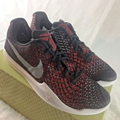 f4efb10f043b Nike Kobe Bryant Mamba Instinct Men s Size 12 Basketball Shoes Black Red NEW   fashion