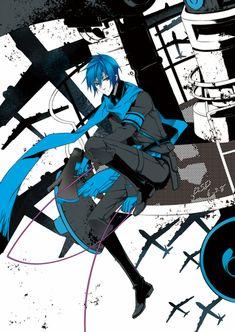 """Vocaloid - Kaito (Love is War) """"Doushitara... dou sureba... baka da na... watashi! Hajimeru no yo- kore wa sensou!"""""""