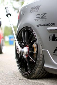 Golf, Hankook tire, OZ racing