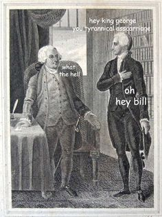 rally 'round the history, The Captioned Adventures of George Washington -...