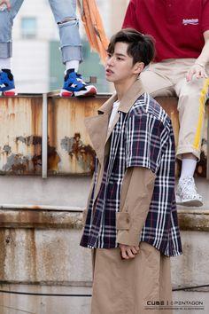 """Shine"" Music Video Behind The Scenes hongseok Hip Hop, E Dawn, Fresh Girls, Fandom, Kpop Guys, Fans Cafe, Seoul Korea, Cube Entertainment, Pop Group"