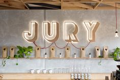 'jury cafe' is located within the confines of a melbourne historical site…