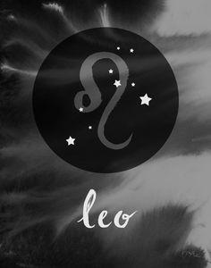 Zodiac Gifts for Leo Zodiac, Leo Wife Gift, Boho Zodiac Wall Art Leo Brush-lettered elements that we Leo Horoscope, Astrology Leo, Leo Zodiac Facts, Zodiac Art, Leo Constellation Tattoo, Leo Symbol, Leo Star, Leo Wife, Leo Tattoos