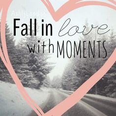 fall in love with moments (picture edited by the lovely @Ashly Rae)