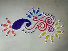 best rangoli designs - YouTube