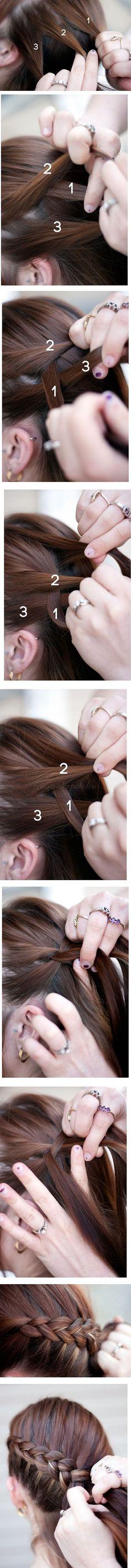 frizurakészítés otthon - Katniss Everdeen frizura (Éhezők viadala film)