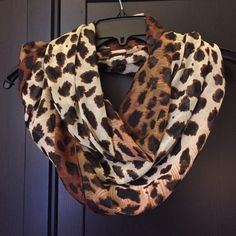 BP Nordstrom Animal Print Infinity Scarf Lightweight infinity scarf from BP in leopard print. Perfect condition worn 1-2 times. bp Accessories Scarves & Wraps