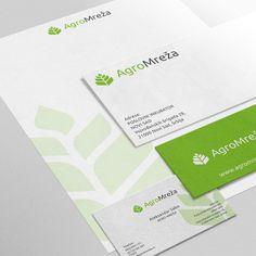 Damir Matas - Agro mreza logo&stationery design