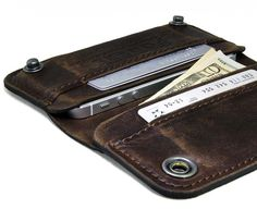 Portel is a european company based in Estonia . . . this is one of their new leather iPhone wallets . . .