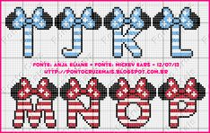 Cross Stitch and More: Monogram Minie - Anja Eliane Normal