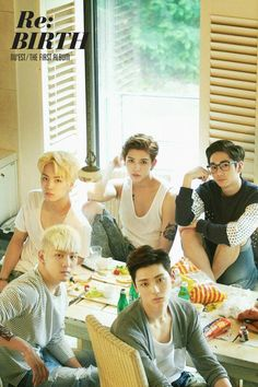NU'EST reveal second group teaser image for 'Re:BIRTH' | http://www.allkpop.com/article/2014/07/nuest-reveal-second-group-teaser-image-for-rebirth