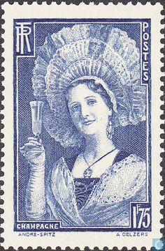 Postage Stamps - France [FRA] - Champagne