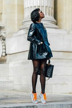 Black sheer tights - love!