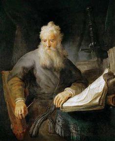 Апостол Павел. Рембрандт 1606-1669