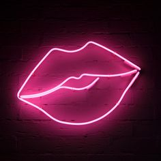 Neon Signs - Lightboxes - Signmaker for Neon Lights - Carousel Lights ® Bedroom Wall Collage, Photo Wall Collage, Picture Wall, Lip Wallpaper, Pink Wallpaper Iphone, Neon Aesthetic, Aesthetic Collage, Fille Gangsta, Tout Rose