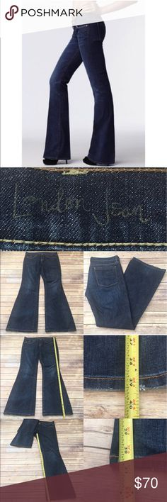 🎀Sz 6 VS London Jeans Dark Wash Flare Denim Jeans Measurements are in photos. Normal wash wear, no flaws. C1/32  I do not comment to my buyers after purchases, due to their privacy. If you would like any reassurance after your purchase that I did receive your order, please feel free to comment on the listing and I will promptly respond.   I ship everyday and I always package safely. Thank you for shopping my closet! Victoria's Secret Jeans Flare & Wide Leg